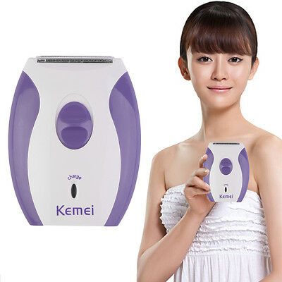 Women Lady Rechargeable Electric Skin Body Hair Removal Shaver Trimmer Clean ZC