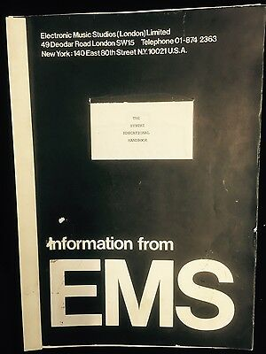 EMS The Synthi Educational Handbook, 1972; 82 pages, bound