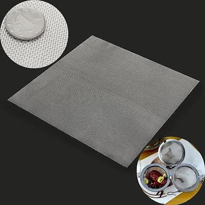 Stainless Steel Silver 20 Mesh Woven Wire Cloth Screen Filter Sheet 30cmx30cm