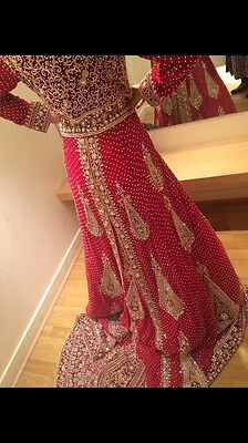 Indian Pakistani Bridal Lengha