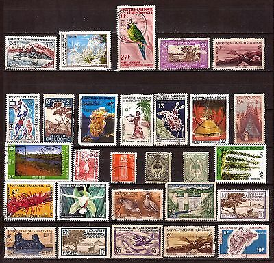 Nlle CALEDONIE  lOT 28 TIMBRES : usages courants sujets divers  G202
