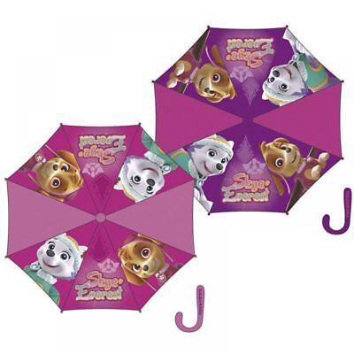 Paw Patrol Girls Umbrella Childrens Kids Panel Rain Snow Brolly Assorted Design