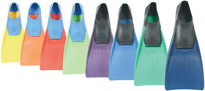 JPL Floating Rubber Swim Fins. Childrens to Adults sizes
