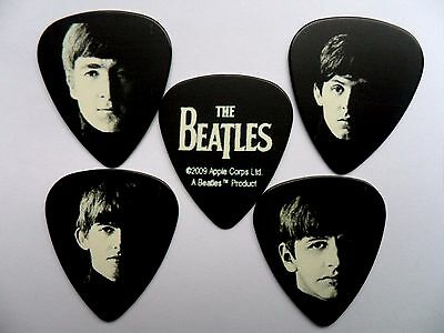 Classic Set of FIVE BEATLES Guitar .71mm Plectrum // Picks  Double Sided