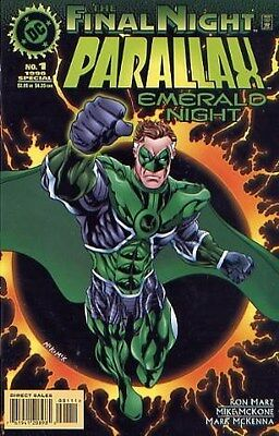 "Comic DC ""Parallax: Emerald Night #1 Special"" 1996 NM"