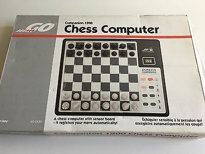 Chess Computer - Intertan Companion 1200 - 64 LEVELS - Sensory Chess Set