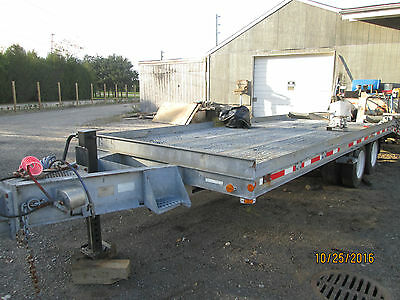 2001 12-Ton Galvantized Tag Along Trailer With Air Brakes