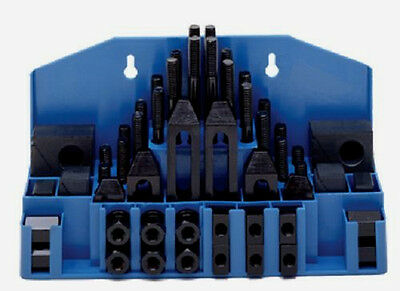 52 Piece Machinist Mill Machine Clamping Set Made In USA, TE-CO 20402PL
