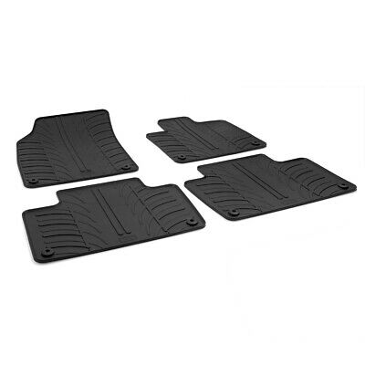 Volvo XC90 Mk.2 2015 - 2017 Tailored Fit Rubber Black Moulded Car Floor Mats Set