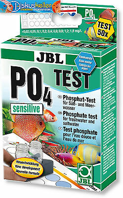 JBL PO4 Phosphat Test-Set Sensitive / Wassertest / Süßwasser / Meerwasser