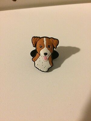 Jack Russell Terrier Dog Shoe Charm By Shoe Doodles For Crocs Or Veggies