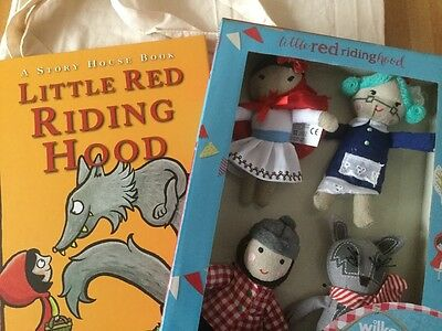 Little Red Riding Hood story sack. Book, bag and plush toys. KS1 EYFS