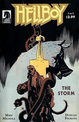 "Comic Dark Horse ""Hellboy The Storm #3"" 2010 NM"