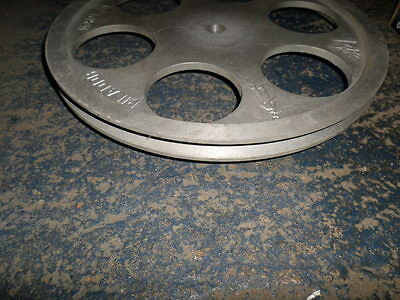 16 inch Double B Section Aluminium Pulley by Picador