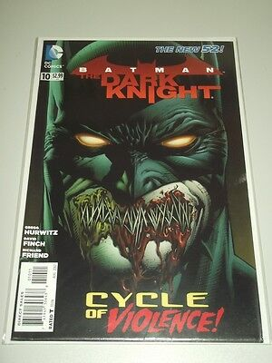 Batman Dark Knight #10 Dc Comics New 52 Nm (9.4)
