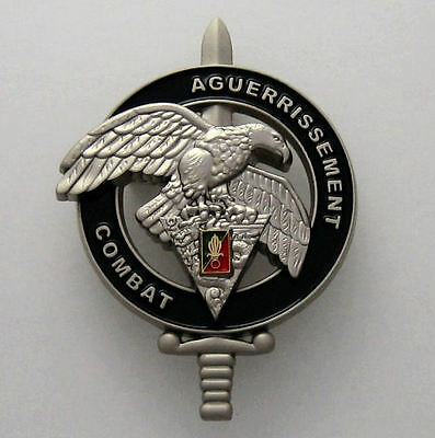 French Foreign Legion Etrangere 2 Rep Badge - Aguerrissement Combat Brevet