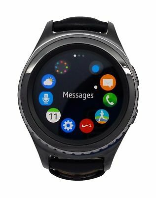 Samsung Galaxy Gear S2 Classic SM-R735T Smart Watch Charcoal Black (T-Mobile)