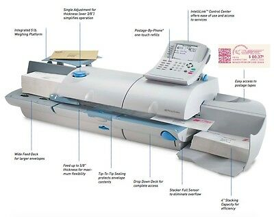 Pitney Bowes DM550 - Mail up to 160 letters per minute! Weigh on the Way!