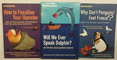 new scientist 3 book bundle science questions answered