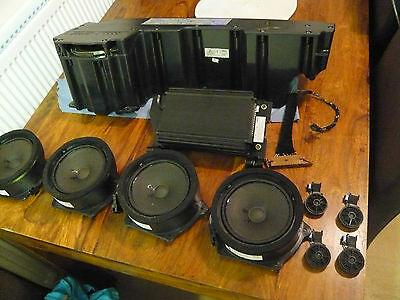audi a2 complete bose set up speakers amplifier and sub cheapest available