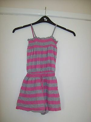 TU Pink & Grey Shorts Outfit - Age 7
