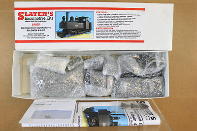 SLATERS KIT BUILT O GAUGE 16mm NARROW GAUGE 4-6-0 WAR DEPARTMENT BALDWIN LOCO ni