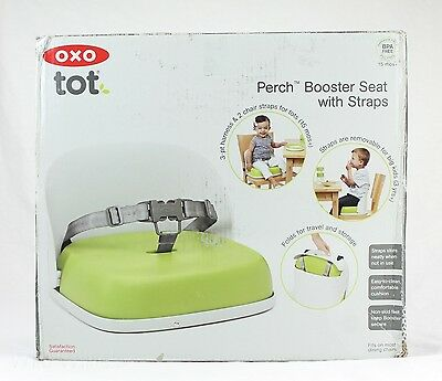 Travel High Chair Booster Seat w/ Straps OXO Tot Perch Foldable USED