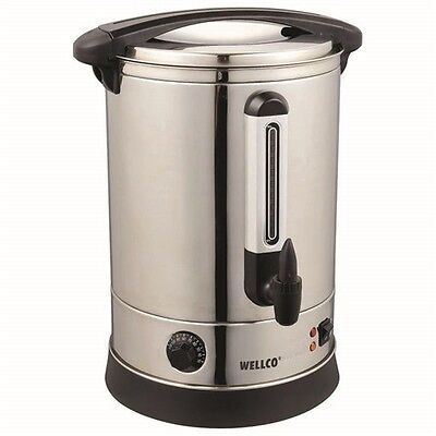 Stainless Steel 9L Tea Urn Electric Catering Hot Water Boiler Coffee 1500W