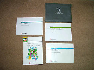 Vauxhall /Opel Vectra Vehicle Literature Pack