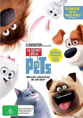 The Secret Life of Pets - DVD Region 4 Free Shipping!