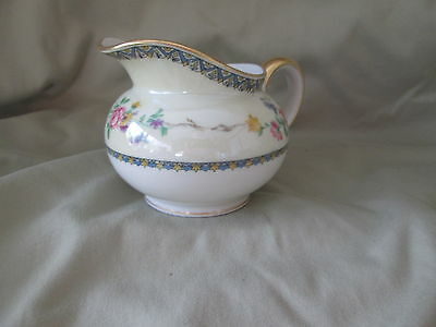 GDA CHF924 Haviland CREAMER have more items (blue, yellow band) flowers