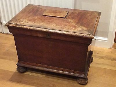 Antique Mahogany Wine Cooler Requires Some TLC Ship Worldwide