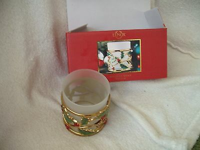 LENOX Holiday Gold Christmas Voltive