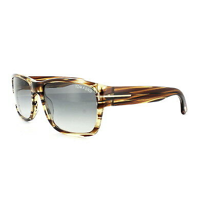 323f2abc9a TOM FORD SUNGLASSES 0445 Mason 50B Brown Marble Grey Gradient ...