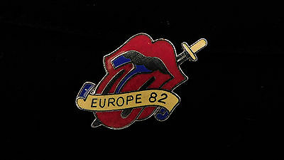 Rolling Stones Europe Tour '82 Pin-New