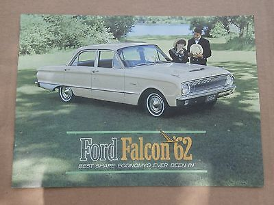Vintage 1962 Ford Falcon Advertising Dealership Booklet With Peanuts 19 Pages