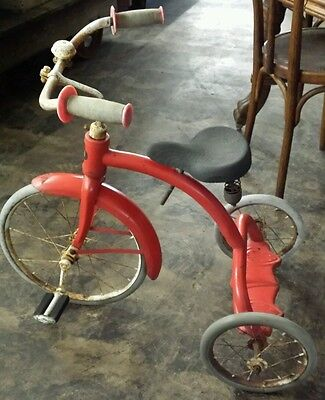 """**Extremely Rare*** 1930s  Belknap Bluegrass 20"""" Tricycle.  Works. Original."""