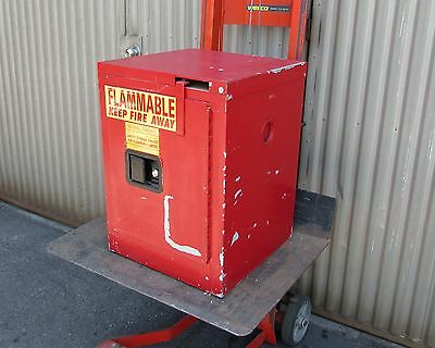 Securall Flammable Liquid Safety Storage Cabinet - 4 Gallon