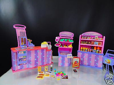 Barbie So Much to Do Supermarket Grocery Store Playset Vintage 1995 Mattel