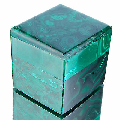 1009 Cts Unique Natural Malachite Box Finest Quality Collector's Huge Gemstone