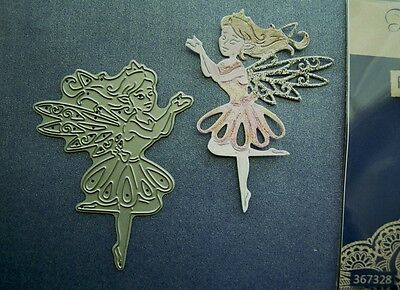 ROXIE - Stunning Fairy DIE D1313 Tattered Lace Stephanie Weightman - New Release