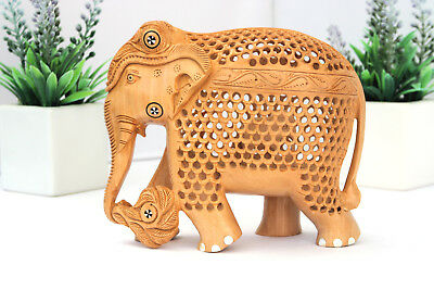 Wooden Elephant - Hand Carved