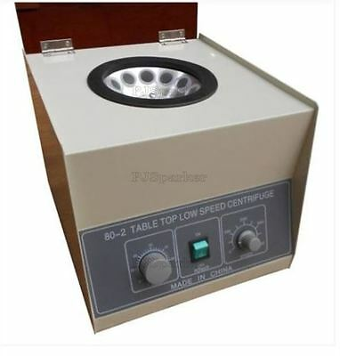 New 80-2 Lab Medical Practice Timer Electric Centrifuge 4000Rpm 20Ml X12 R