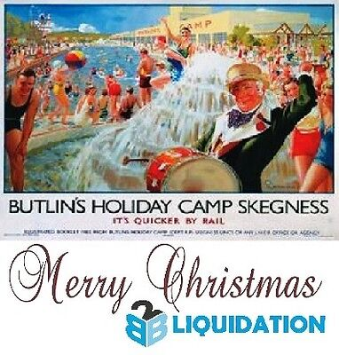 NEW Vintage style Jigsaw Puzzle Butlins Skegness Holiday Camp 1000 piece