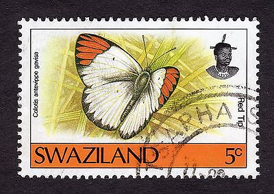 1992 Swaziland Butterflies 5c Colotis antevippe SG 606 FINE USED R29955