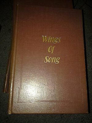 Vtg OLD HYMNAL WINGS OF SONG RELIGIOUS CHURCH SONGBOOK CHRISTIAN MUSIC