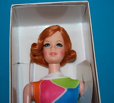 NRFB! Vintage Barbie Reproduction COPPER PENNY Red Titian TNT STACEY in SWIMSUIT