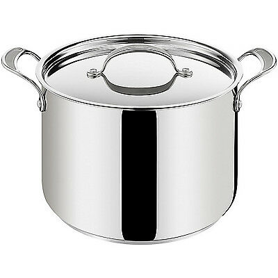Tefal Jamie Oliver Professional Series Stainless Steel 9.4L Stock Soup Stockpot