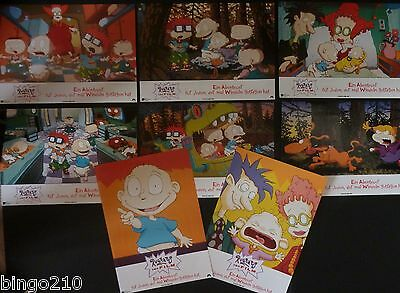 The Rugrats Movie Original 1998 German Lobby Set Nicklodeon Elizabeth Daily
