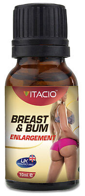 100% Natural Breast & Bum Enlargement Massage Essential Oil Complex 10ml